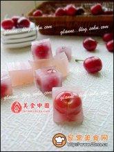 樱桃果肉冻图解
