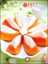 牛奶木瓜冻图解