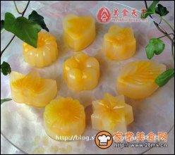 鲜橙蜂蜜凉糕图解