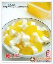 牛奶甜橙冻图解