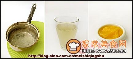 北京小吃-杏仁豆腐