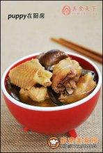 柴鸡炖蘑菇图解