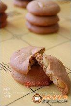 红糖松子手工饼干图解