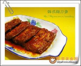 韩式炖刀鱼图解