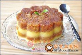 芒果布丁蛋糕图解