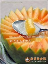 椰汁西米炖木瓜图解