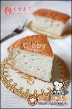 椰香天使蛋糕图解