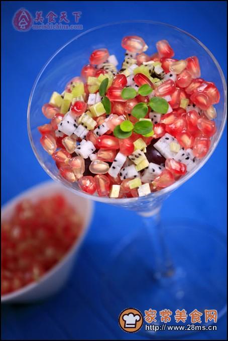 双果石榴沙拉