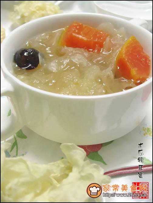木瓜燕窝的做法 木瓜炖牛奶的做法
