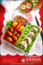 寿司饭卷便当图解