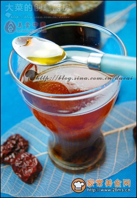 自制蜂蜜大枣茶