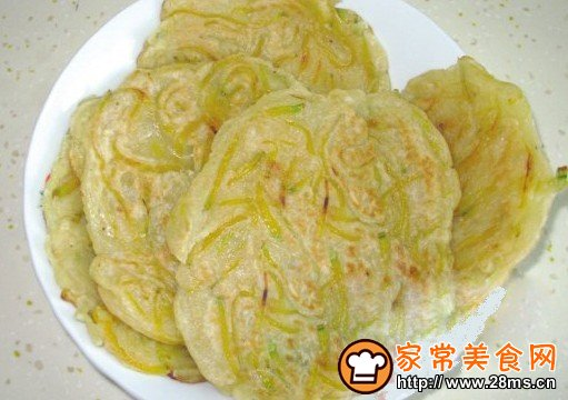 黄豆渣煎饼