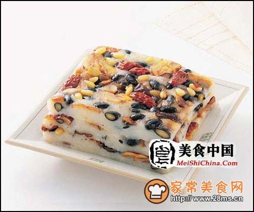 韩国料理-牛头糕