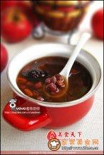 枸杞红枣赤豆汤消渴补血图解