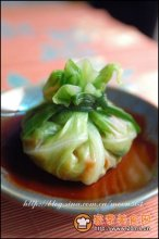 五彩蔬菜包图解