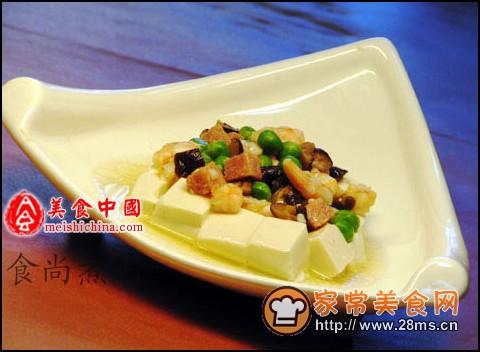 四喜蒸豆腐