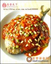 茄汁鲳鱼图解
