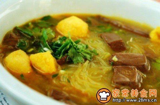 南京鸭血粉丝汤排第一它绝对排第二