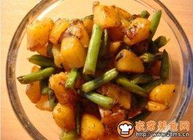 干煸豆角土豆