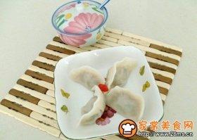 白萝卜羊肉馅饺子
