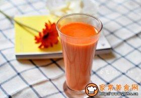 胡萝卜牛奶汁