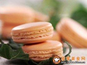 马卡龙(杏仁蛋白糖饼)