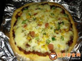 原香烧烤鸡肉比萨