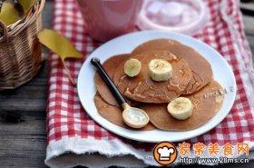 香蕉牛奶小煎饼