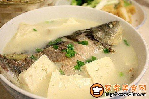 豆腐 鲫鱼汤