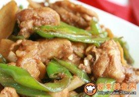 老姜青椒鸡