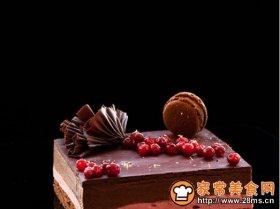 巧克力树莓慕斯蛋糕