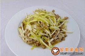 肉丝炒韭黄