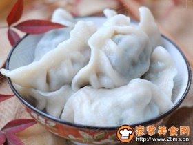 荠菜鲜肉水饺