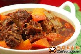 茄红牛腩煲