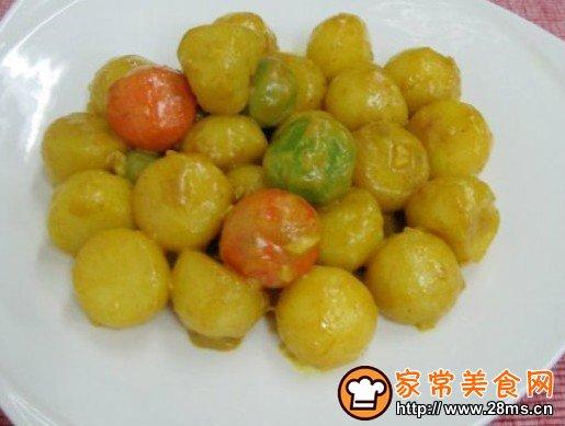 咖哩浓香土豆
