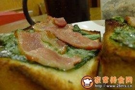 懒人早餐:烧烤培根三明治