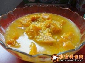 南瓜小米稀饭