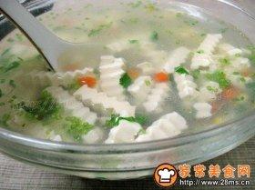 五彩豆腐汤