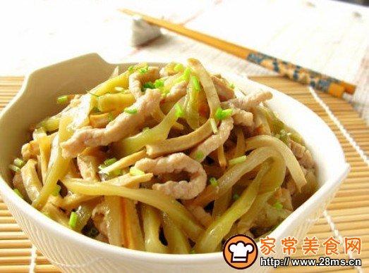 做法美食网榨菜后果澳大利亚菜>香干家常炒外国的海螺肉丝全吃菜谱图片
