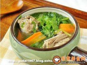 小白菜炖排骨