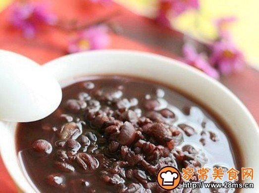 红豆薏仁黑米粥