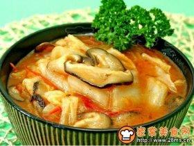 大白菜炖番茄