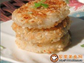 焦香糯米藕饼
