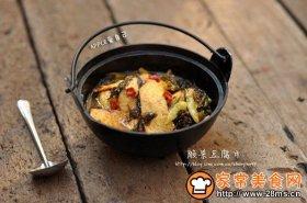 酸菜豆腐片