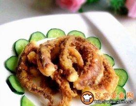 椒盐鱿鱼须