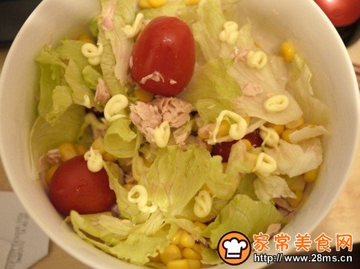 吞拿鱼番茄沙拉