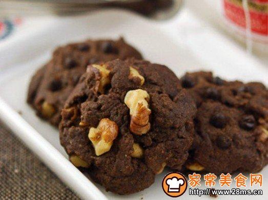 核桃巧克力奇普饼干