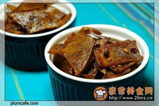 麻辣豆腐皮的做法