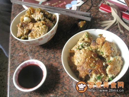 蚝烙(潮汕海蛎煎)的做法