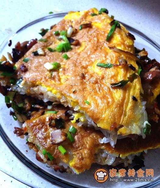 武汉小吃三鲜豆皮的做法
